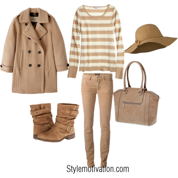 17 Cozy and Casual Combinations for Winter (8)