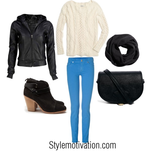 17 Cozy and Casual Combinations for Winter (9)