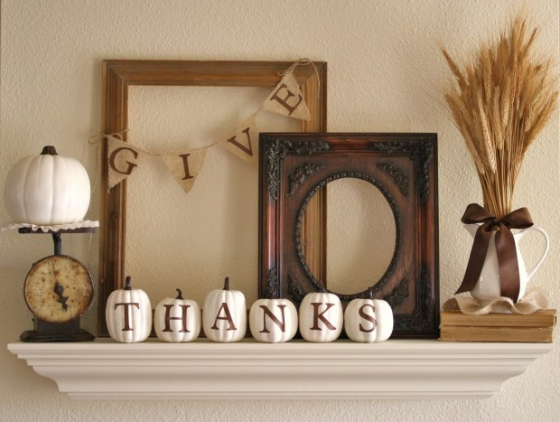 17 Creative and Easy DIY Home Decor Crafts for the Thanksgiving Holiday (16)