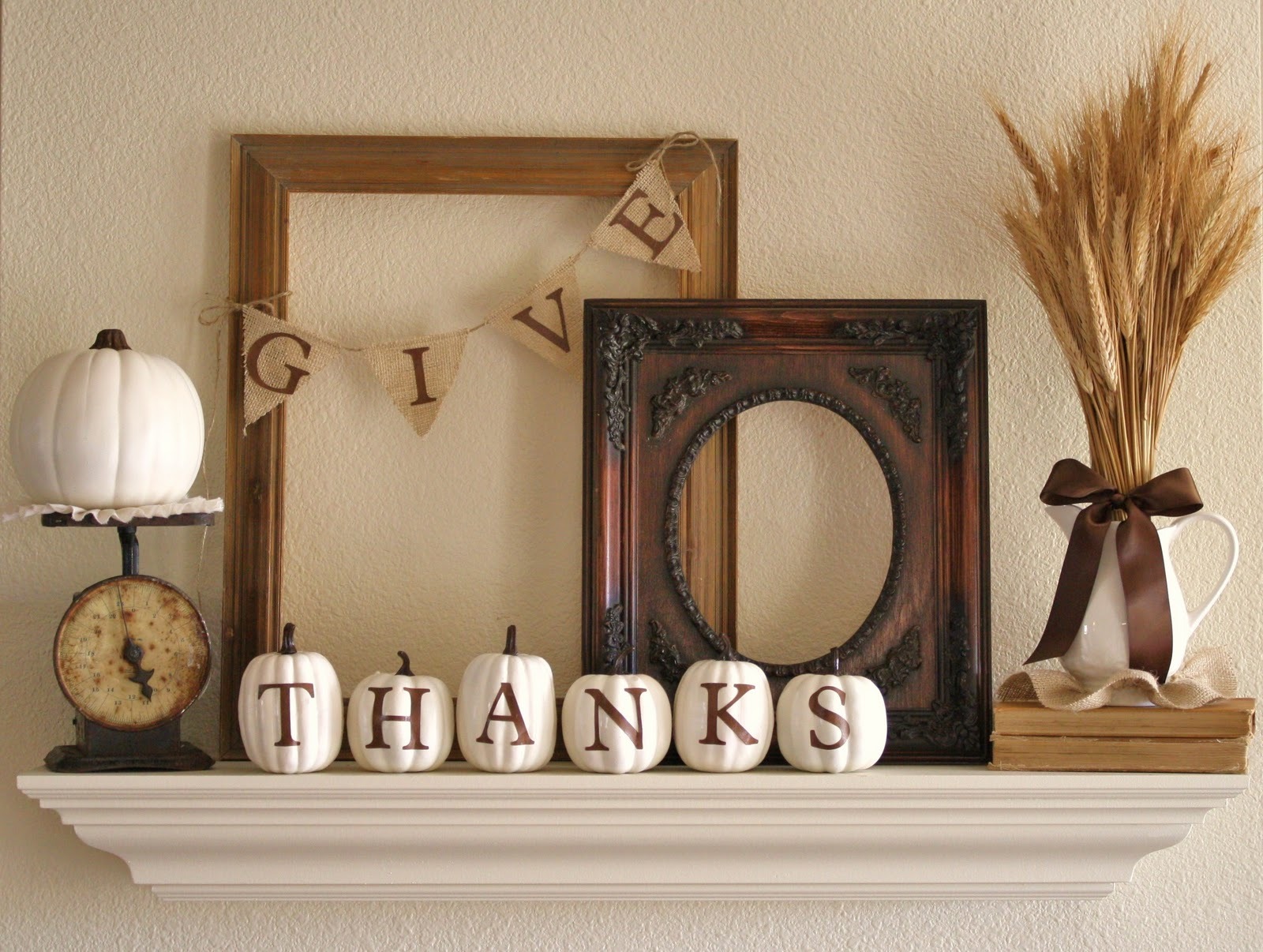 17 creative and easy diy home decor crafts for the How to decorate your house for thanksgiving