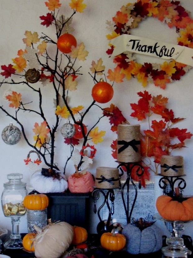17 Creative and Easy DIY Home Decor Crafts for the Thanksgiving Holiday (4)