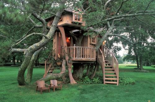 18 Amazing Tree House Design Ideas that Your Kids Will Love (11)