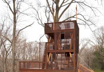 17 Amazing Tree House Design Ideas that Your Kids Will Love - tree house, kids, house