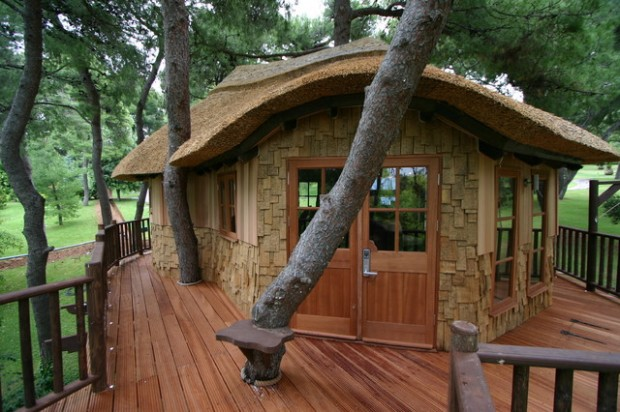 18 Amazing Tree House Design Ideas that Your Kids Will Love (13)