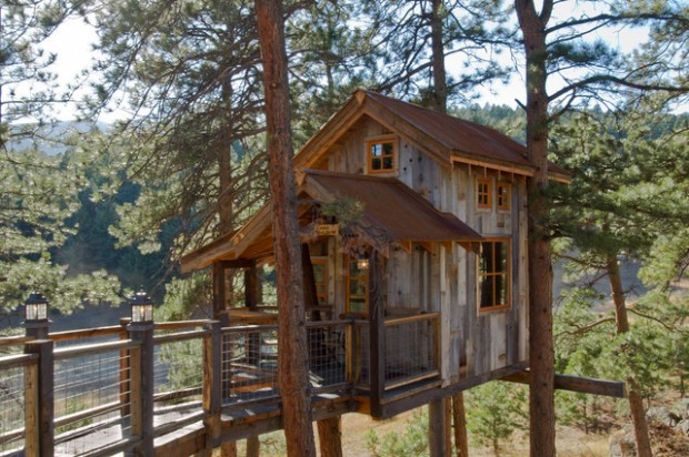 18 Amazing Tree House Design Ideas that Your Kids Will Love (14)