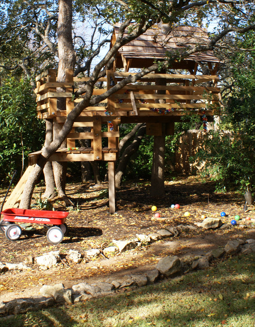 18 Amazing Tree House Design Ideas that Your Kids Will Love (15)