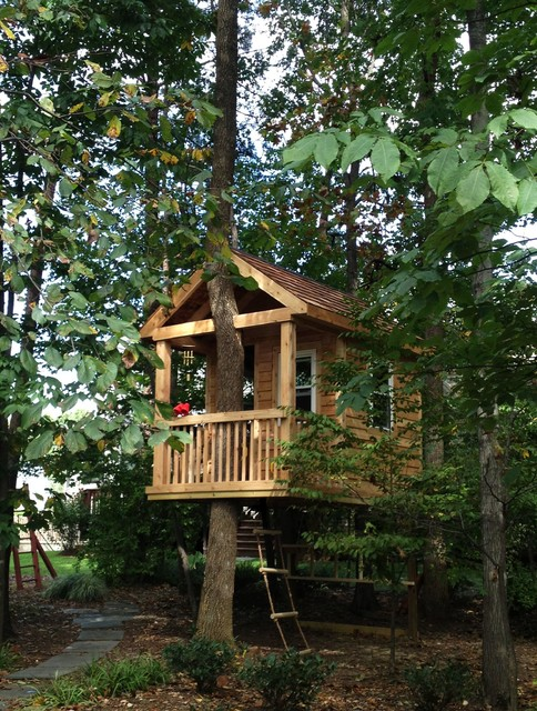 18 Amazing Tree House Design Ideas that Your Kids Will Love (16)