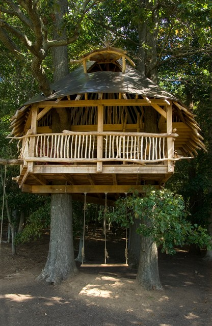 18 Amazing Tree House Design Ideas that Your Kids Will Love (18)