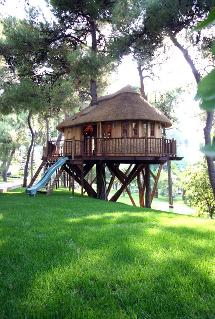 18 Amazing Tree House Design Ideas that Your Kids Will Love (4)