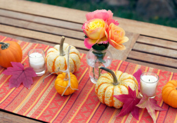 18 Great Thanksgiving Table Centerpieces Decoration Ideas - thanksgiving table decoration, thanksgiving decorations, Thanksgiving, Centerpiece