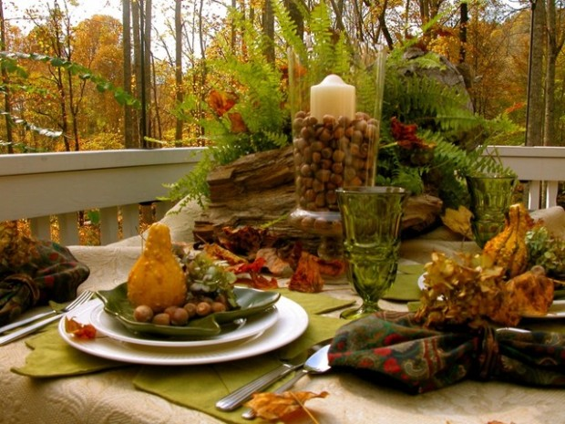 18 Great Thanksgiving Table Centerpieces Decoration Ideas (13)