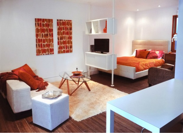 18 urban small studio apartment design ideas style - Small studio apartment ideas ...