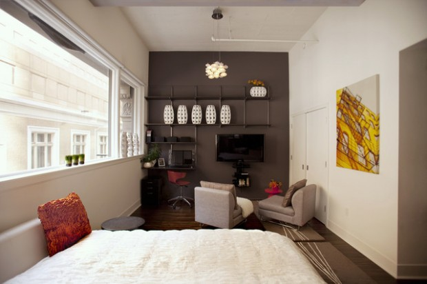 ... Interior Design Small Apartments Pleasant The Surprising Small Studio  Apartment Interior Design Ideas Apartment ...
