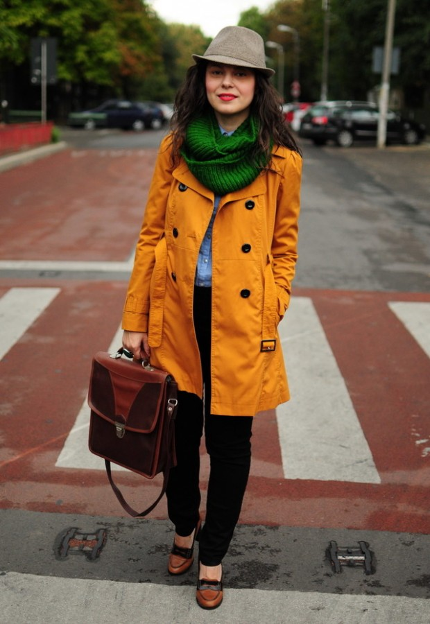 19 Chic and Stylish Outfit Ideas with Scarf for Cold Days (1)