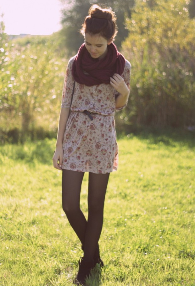 19 Chic and Stylish Outfit Ideas with Scarf for Cold Days (10)
