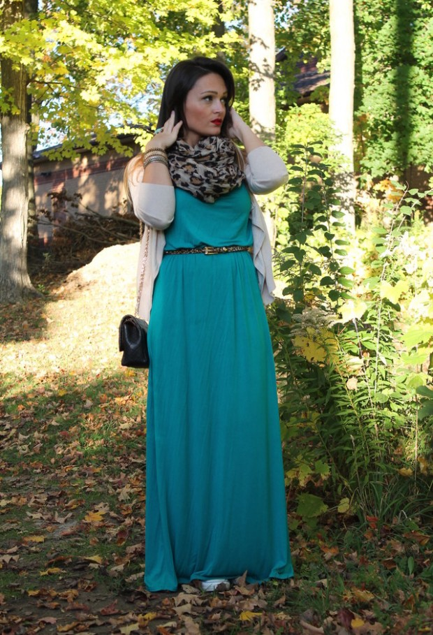 19 Chic and Stylish Outfit Ideas with Scarf for Cold Days (13)