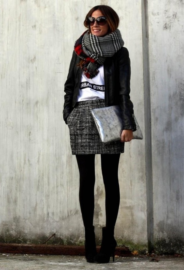 19 Chic and Stylish Outfit Ideas with Scarf for Cold Days - Style Motivation