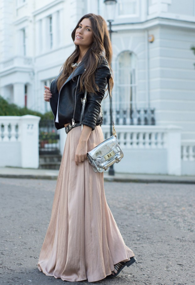 19 Cool Outfit Ideas with Leather Jackets (16)