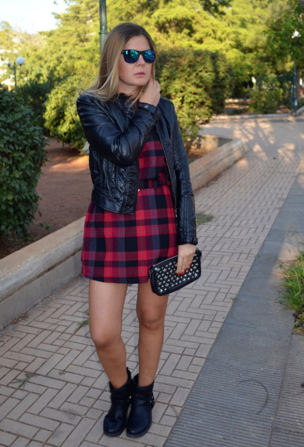 19 Cool Outfit Ideas with Leather Jackets (2)