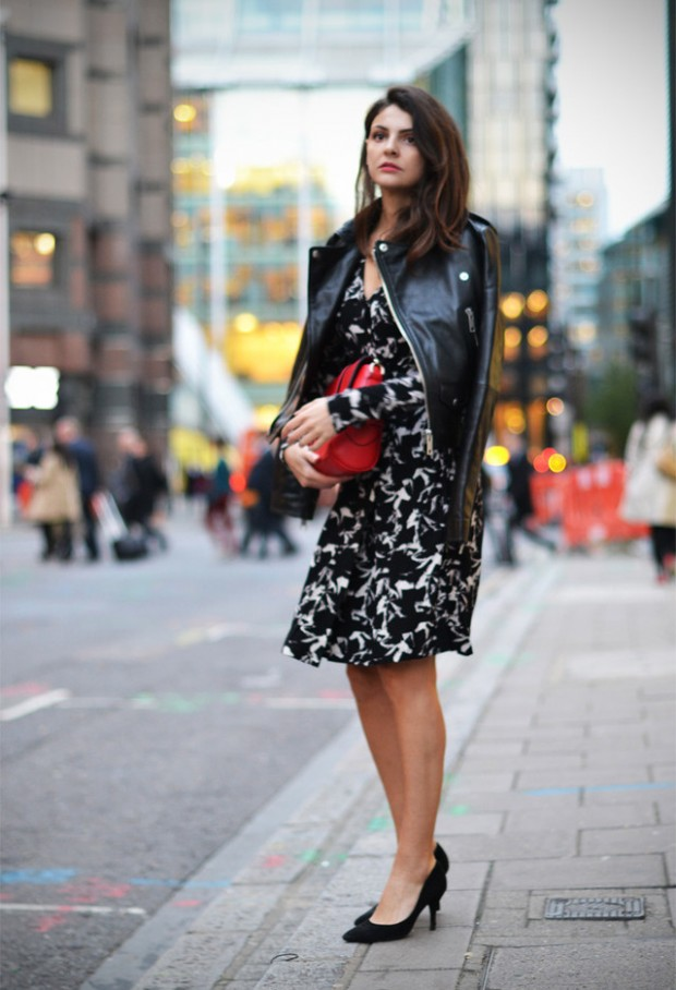 19 Cool Outfit Ideas with Leather Jackets (8)