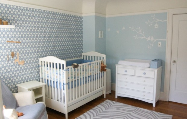 19 adorable baby nursery design ideas