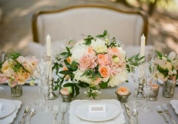20 Amazing Floral Centerpieces for the Wedding of Your Dreams - wedding table, wedding decor, wedding centerpieces
