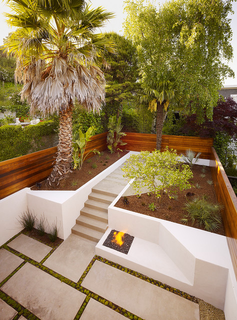 20 Amazing Ideas for Your Backyard Fence Design on Backyard Wall Covering Ideas id=82165