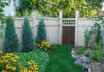 20 Amazing Ideas for Your Backyard Fence Design - fence, design, backyard fence, backyard