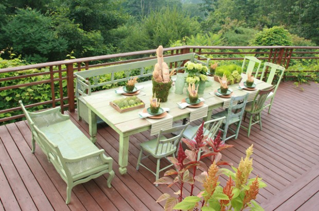 20 Amazing Outdoor Table Décor Ideas (12)