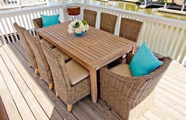 18 amazing outdoor table decor ideas style motivation for Outdoor table decor ideas