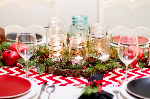 20 Amazing Table Centerpiece for Perfect Christmas Decoration (1)