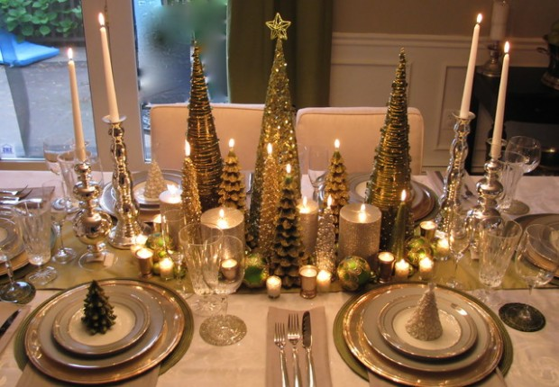 20 Amazing Table Centerpiece for Perfect Christmas Decoration (12)