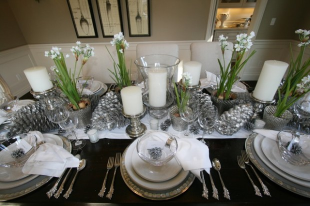 20 Amazing Table Centerpiece for Perfect Christmas Decoration (14)