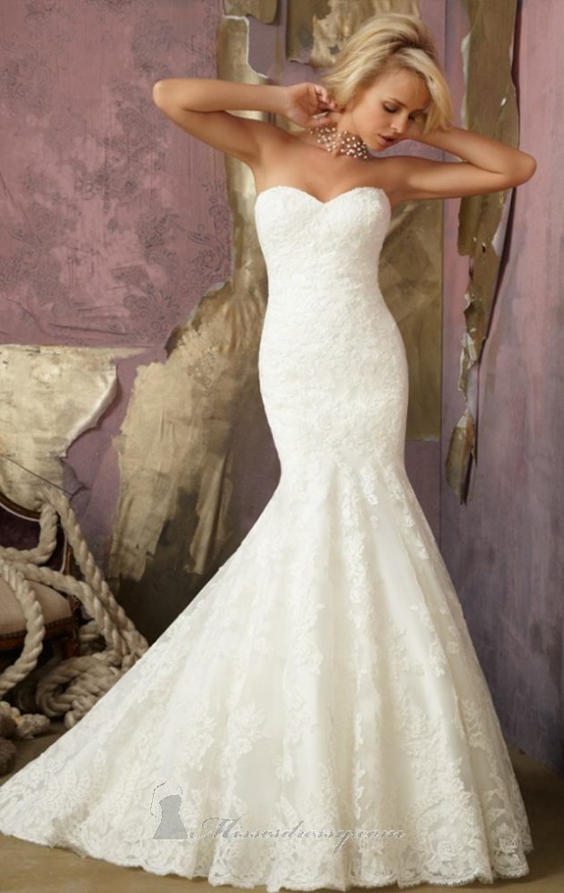 20 beautiful wedding dresses for modern brides style for A pretty wedding dress