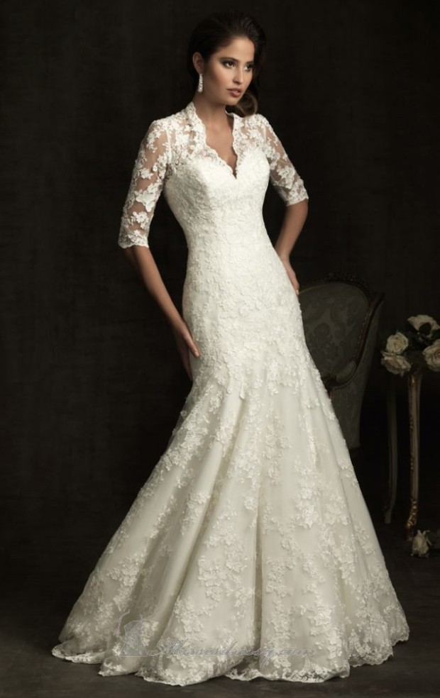 Elegant wedding dresses pictures : Classic and elegant wedding dresses style motivation