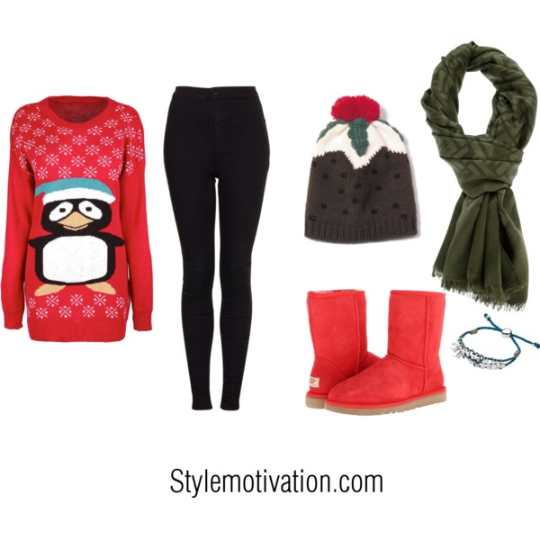 20 Cute Christmas Outfit Ideas (12)