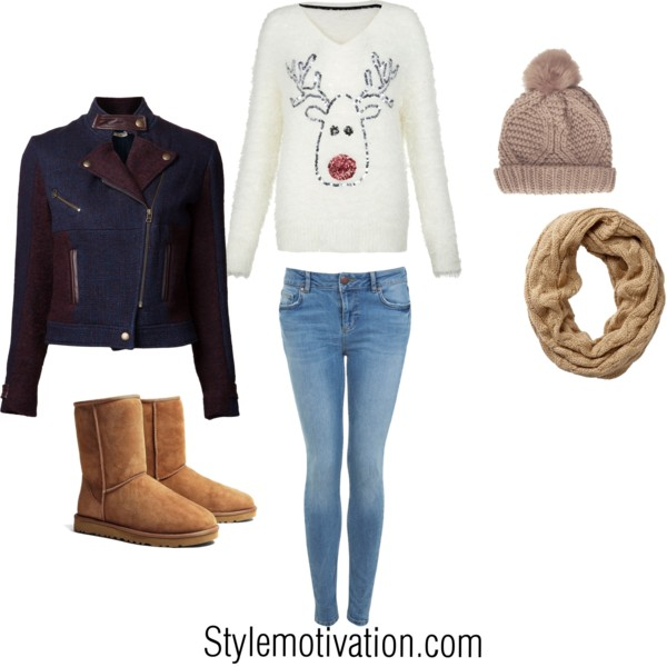 20 Cute Christmas Outfit Ideas (13)