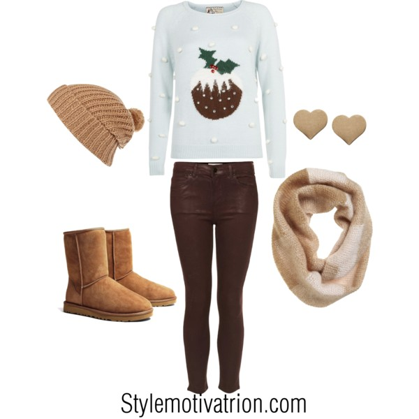 20 Cute Christmas Outfit Ideas