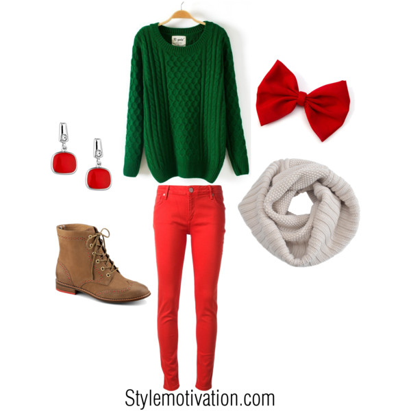 20 Cute Christmas Outfit Ideas (15)