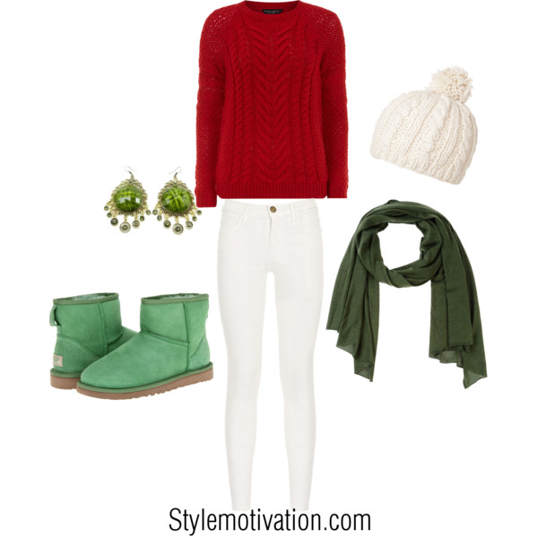 20 Cute Christmas Outfit Ideas (20)