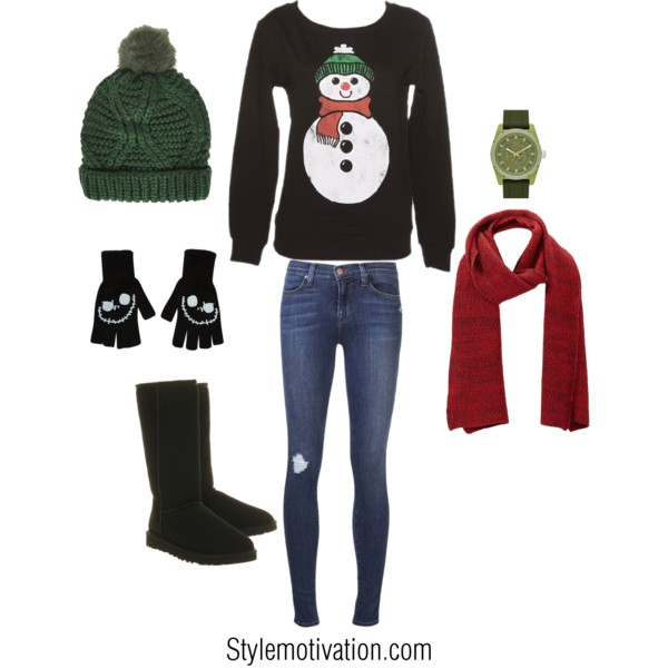 20 Cute Christmas Outfit Ideas (5)
