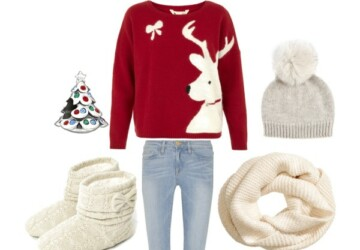 20 Cute Christmas Outfit Ideas - Outfit ideas, fashion combinations, Christmas outfit ideas, Christmas