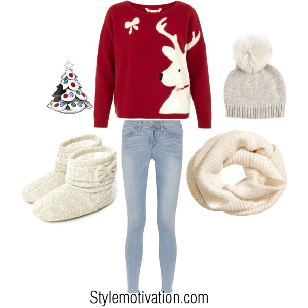 20 Cute Christmas Outfit Ideas (7)