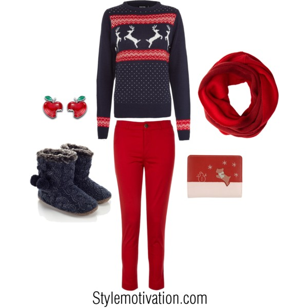 20 Cute Christmas Outfit Ideas (8)