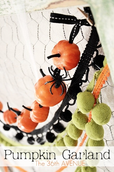 20 Great DIY Halloween Garlands and Banners for Perfect Halloween Home Decor (8)