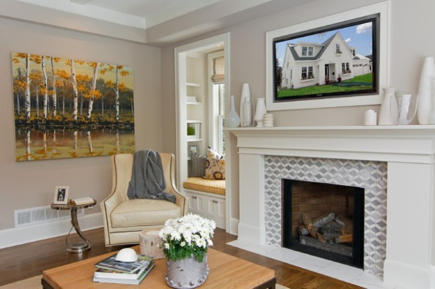 20 Great Fireplace Design Ideas that Look so Lovely (1)
