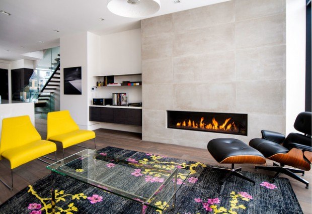 20 Great Fireplace Design Ideas that Look so Lovely (10)