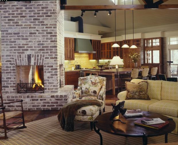 20 Great Fireplace Design Ideas that Look so Lovely (13)