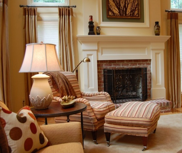 20 Great Fireplace Design Ideas that Look so Lovely (15)