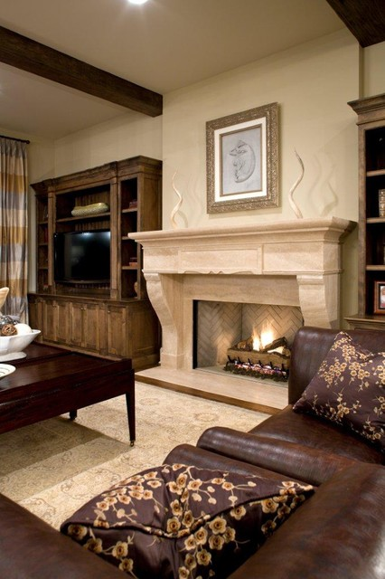 20 Great Fireplace Design Ideas that Look so Lovely (17)
